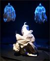 近松人形の花形たち